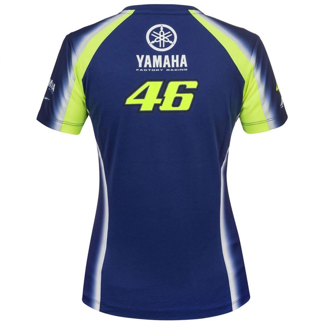Camiseta VR46 Yamaha Valentino Rossi VR 46 314309 Lady · Motocard d1d8e66593b71