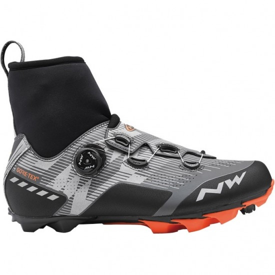 Chaussures NORTHWAVE Raptor Arctic GTX Reflective Lobster Orange