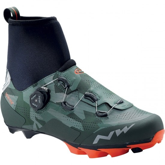 Scarpa NORTHWAVE Raptor GTX Camo / Lobster Orange