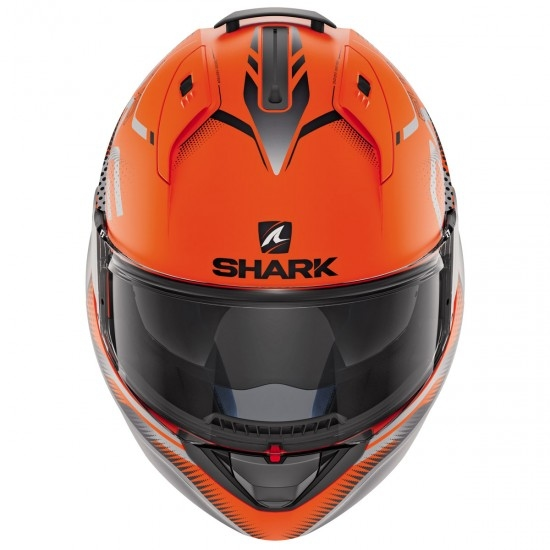Casco SHARK Evo-One 2 Keenser Mat Orange / Black / Anthracite