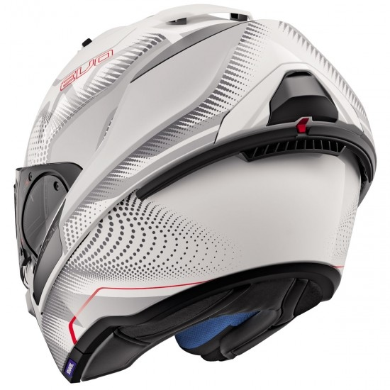 Casco SHARK Evo-One 2 Keenser White / Silver / Red