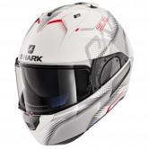 SHARK Evo-One 2 Keenser White / Silver / Red