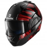 SHARK Evo-One 2 Lithion Dual Black / Chrom / Red