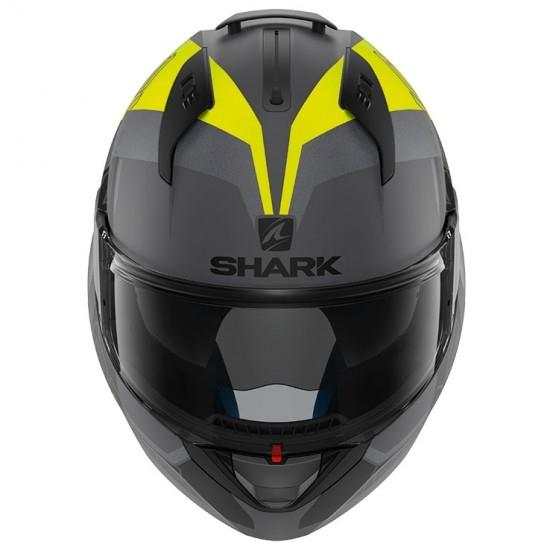 Casque SHARK Evo-One 2 Slasher Mat Anthracite / Yellow / Black