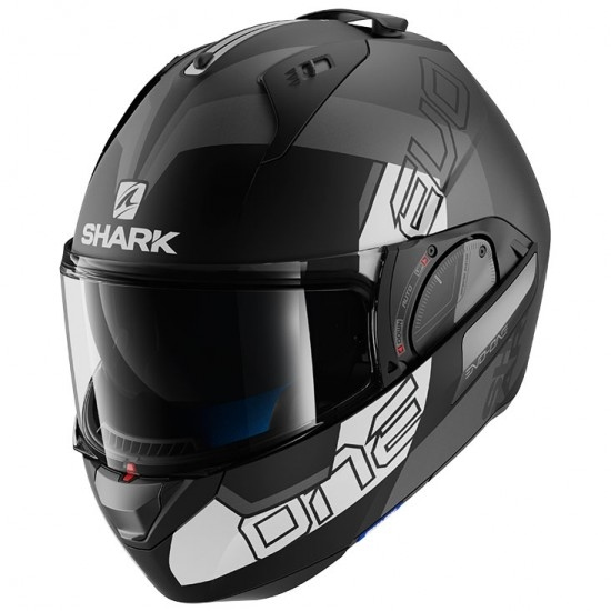 Casco SHARK Evo-One 2 Slasher Mat Black / Anthracite / White