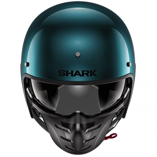 Casco SHARK S-Drak Blank Metal Green / Green / Metal