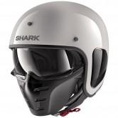 SHARK S-Drak Blank White / Azur