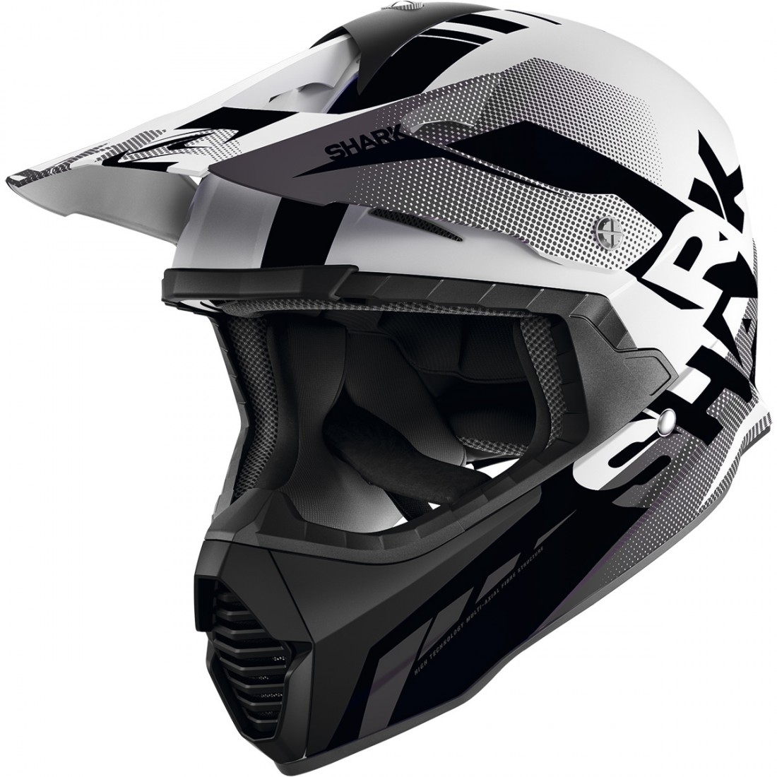 SHARK Varial Anger White / Black / Anthracite Helmet