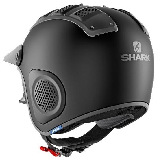 Casco SHARK X-Drak Blank Mat Black