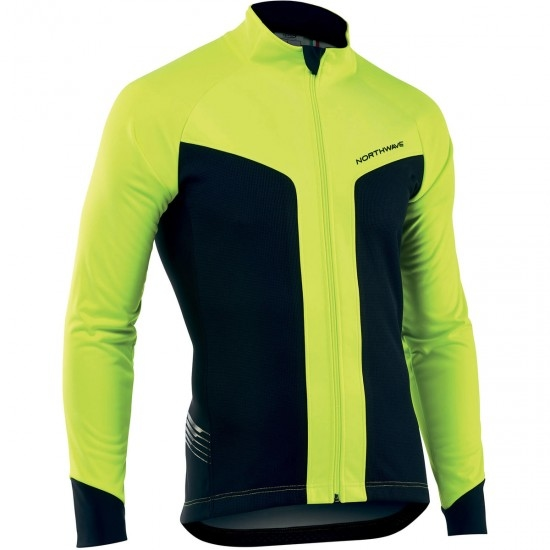 Chaqueta NORTHWAVE Reload Selective Protection 2019 Yellow Fluo / Black
