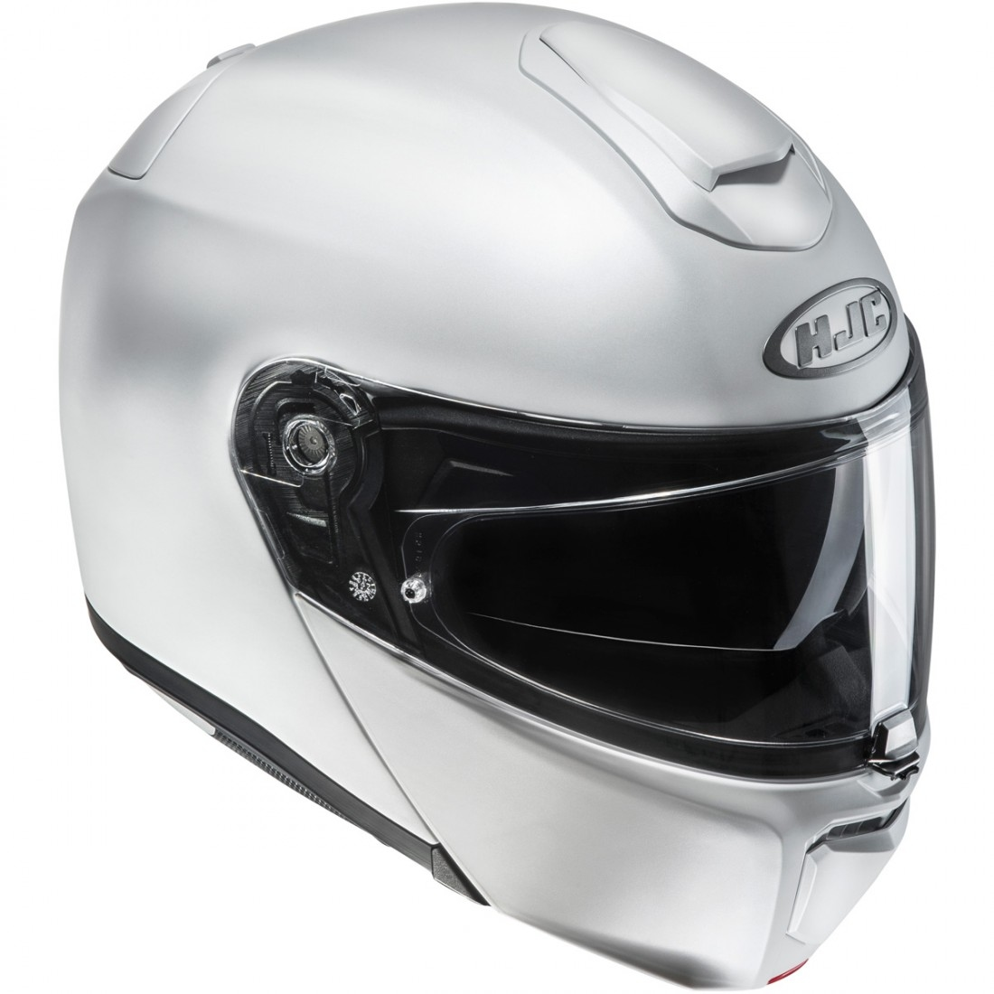 hjc rpha 90 semi flat pearl white helmet motocard. Black Bedroom Furniture Sets. Home Design Ideas