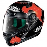 X-LITE X-803 Replica Carlos Checa Flat Black
