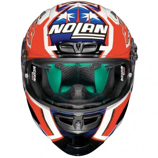 Helm NOLAN X-803 Replica Casey Stoner Metal White