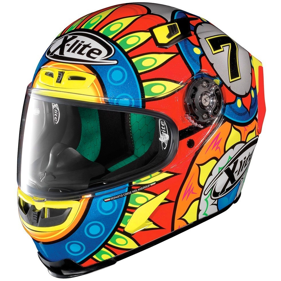 x lite x 803 replica chaz davies metal black helmet motocard. Black Bedroom Furniture Sets. Home Design Ideas