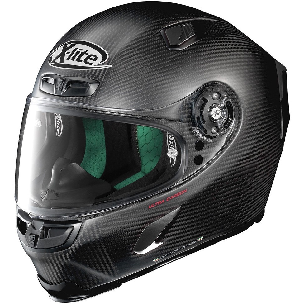 x lite x 803 ultra carbon puro flat carbon helmet motocard. Black Bedroom Furniture Sets. Home Design Ideas