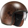 Casco HJC FG-70S Vintage Semi-Flat Brown