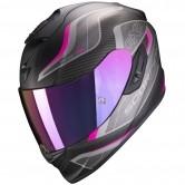 SCORPION Exo-1400 Air Attune Matte Black / Pink