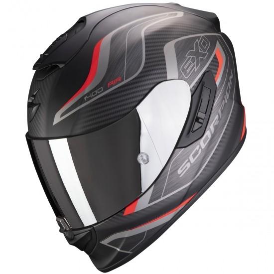 Helm SCORPION Exo-1400 Air Attune Matte Black / Red