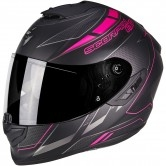 SCORPION Exo-1400 Air Cup Matt Black / Chameleon / Pink