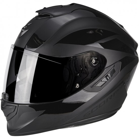 Casco SCORPION Exo-1400 Air Freeway II Matt Black / Black