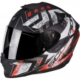 SCORPION Exo-1400 Air Picta Matt Black / Red Fluo