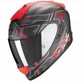 SCORPION Exo-1400 Air Spatium Silver / Red