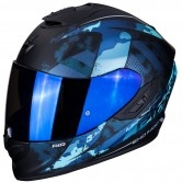 SCORPION Exo-1400 Air Sylex Matt Black / Blue