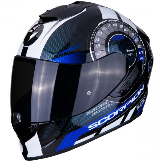 Casco SCORPION Exo-1400 Air Torque Black / Blue