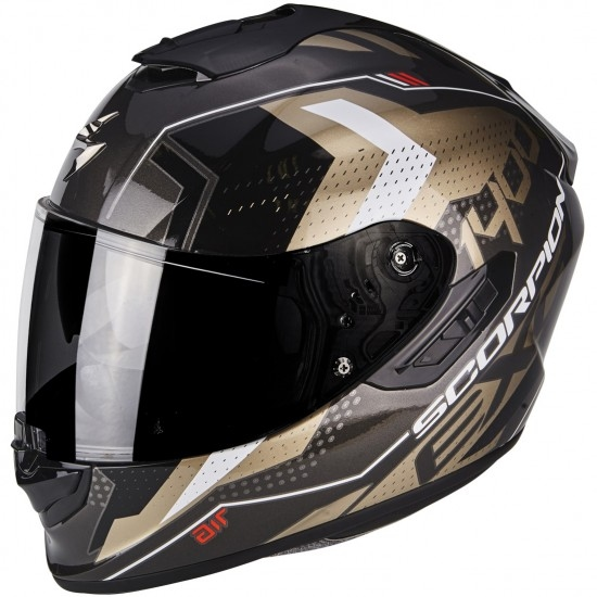 Casco SCORPION Exo-1400 Air Trika Gold / Black