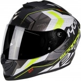 SCORPION Exo-1400 Air Trika White / Black / Yellow Fluo