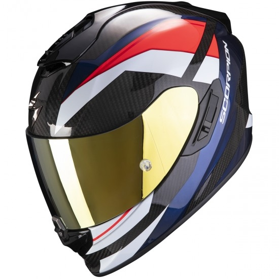 Helm SCORPION Exo-1400 Carbon Air Legione Red / Blue