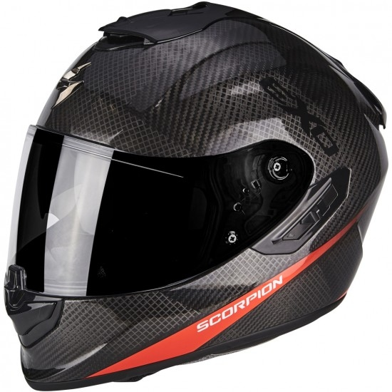Casco SCORPION Exo-1400 Carbon Air Pure Neon Red