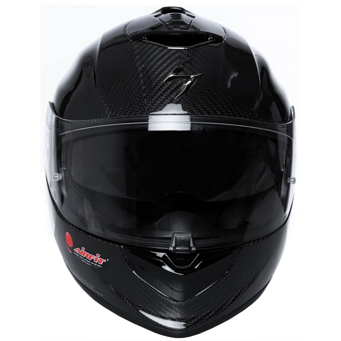 Casco SCORPION Exo-1400 Carbon Air Solid · Motocard d0019a13f2f