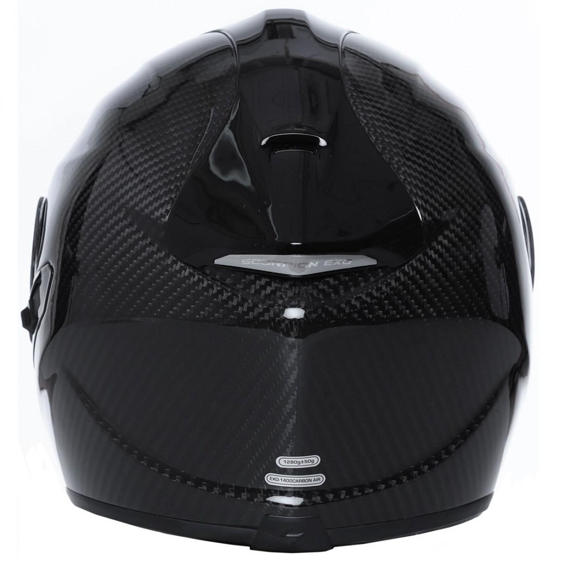 helm scorpion exo 1400 carbon air solid motocard. Black Bedroom Furniture Sets. Home Design Ideas