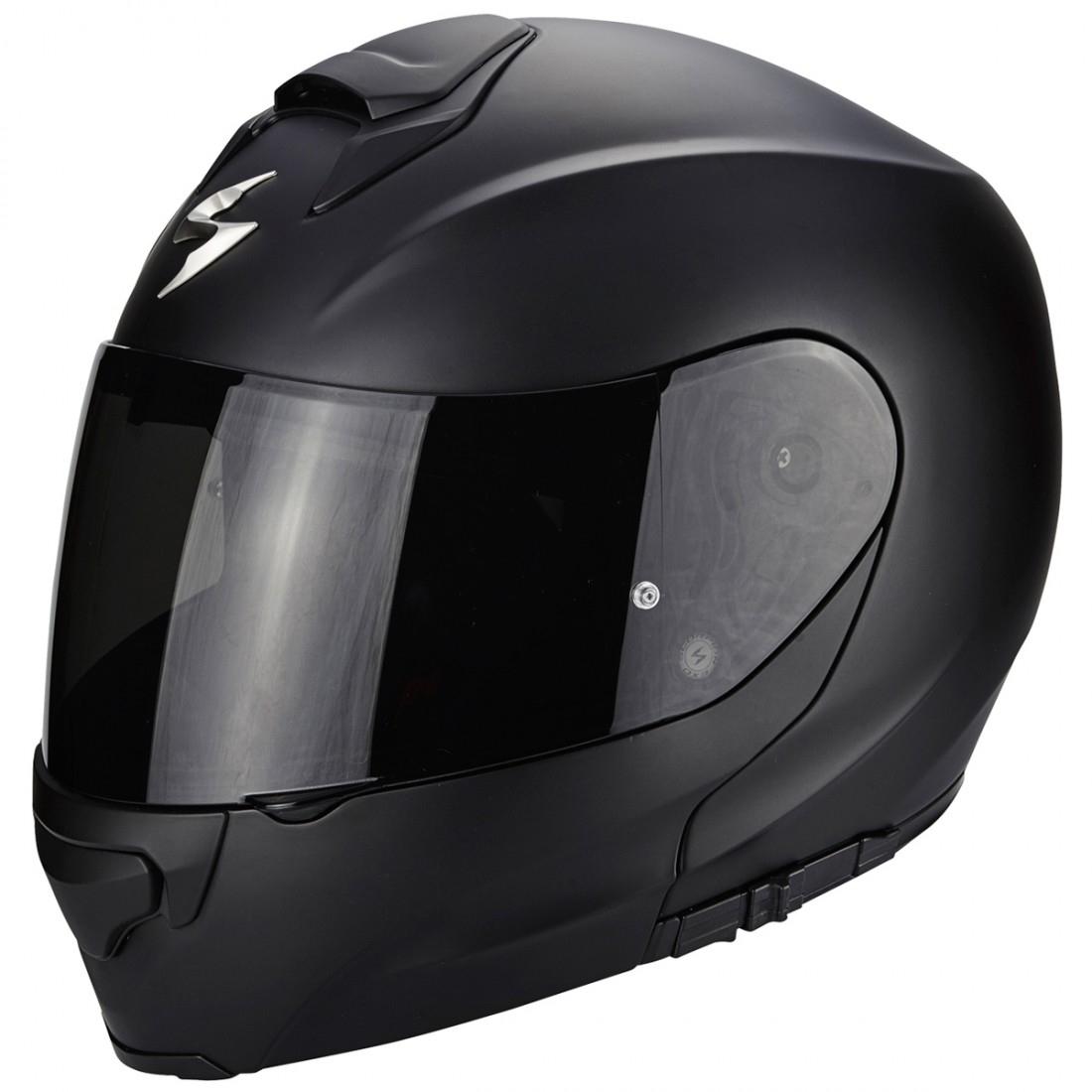 ffec94d7 SCORPION Exo-3000 Air Matt Black Helmet · Motocard