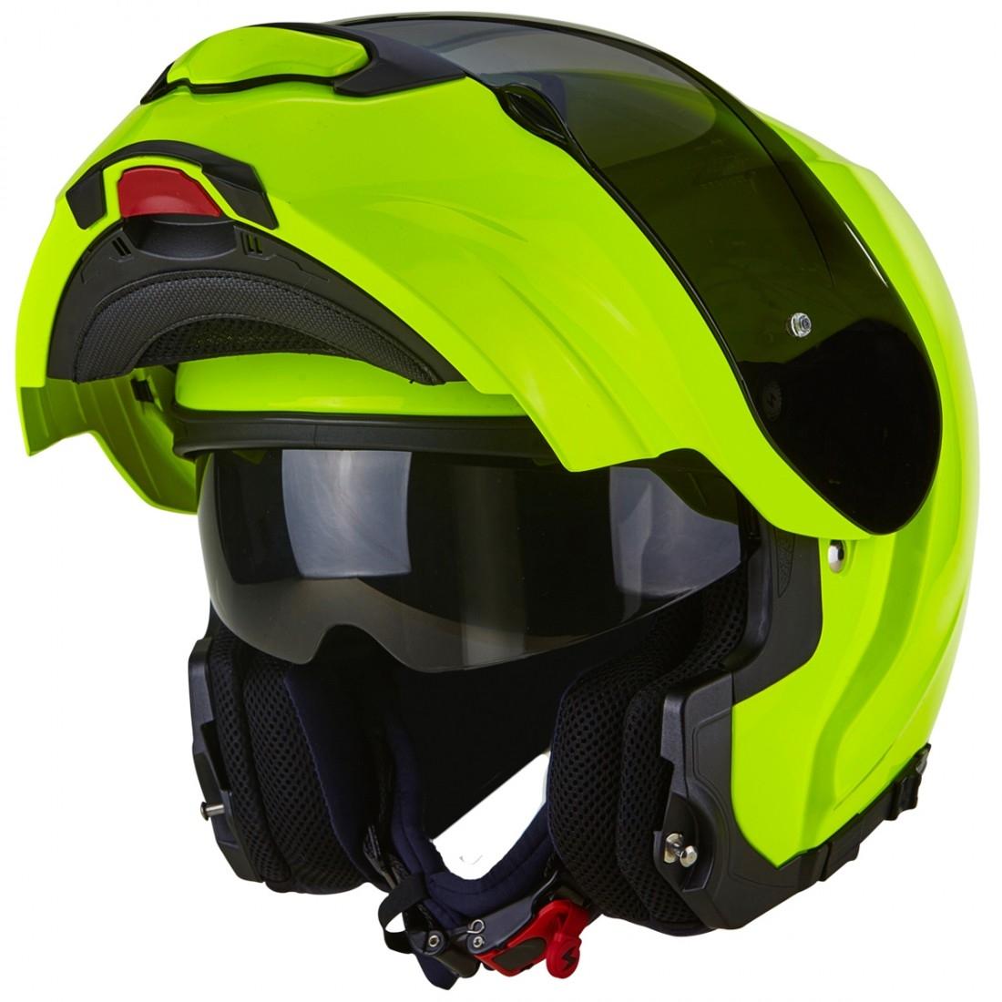 casco scorpion exo 3000 air neon yellow motocard. Black Bedroom Furniture Sets. Home Design Ideas
