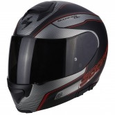 SCORPION Exo-3000 Air Stroll Matt Black / Silver / Red
