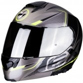SCORPION Exo-3000 Air Creed Titanium / Black / Yellow