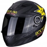 SCORPION Exo-490 Rockstar Matt Black / Yellow / Red