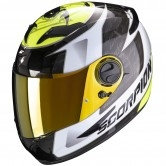 SCORPION Exo-490 Tour White / Yellow Fluo