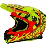 SCORPION VX-21 Air Furio Neon Yellow / Black / Red