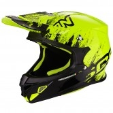 SCORPION VX-21 Air Mudirt Black / Neon Yellow