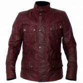 Crosby Waxed Cotton Racing Red