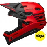BELL Super DH MIPS Fasthouse Matte Red / Black