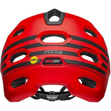 Casco BELL Super DH MIPS Fasthouse Matte Red / Black