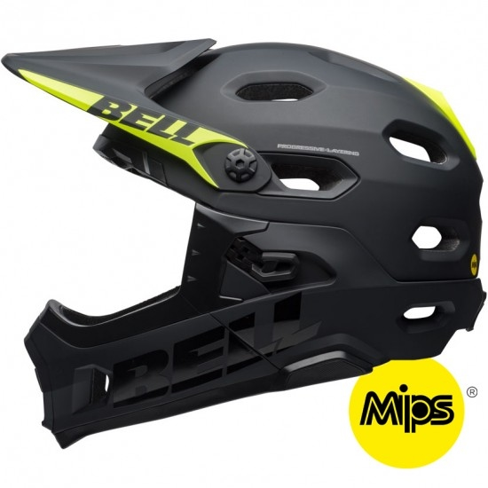 Casque BELL Super DH MIPS Matte / Gloss Black