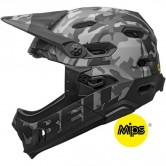 Super DH MIPS Matte - Gloss Black  Camo