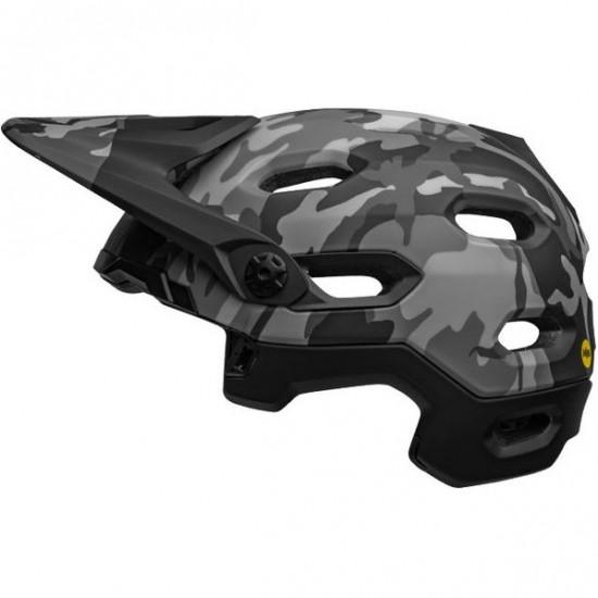 Super DH MIPS Matte - Gloss Black  Camo