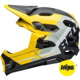 BELL Super DH MIPS Matte Yellow / Smoke / Black Recourse