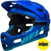 BELL Super 3R MIPS Matte Blues